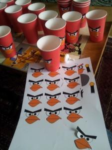 Angry Birds Becher