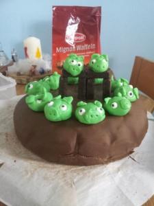 Angry Birds Kuchen