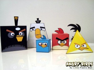 Angry Birds basteln